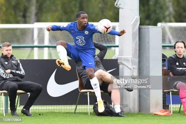 Dion Rankine of Chelsea during the Premier League 2 Division One match between Chelsea U23 and Derby County U23 at Chelsea Training Ground on October...