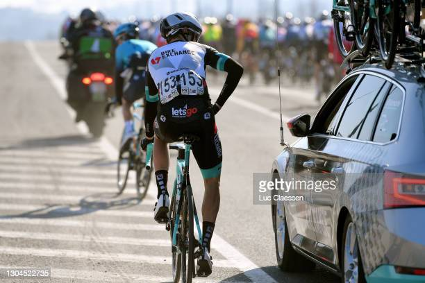 Dion Smith of New Zealand and Team BikeExchange during the 73rd Kuurne - Bruxelles - Kuurne 2021 a 197km race from Kuurne to Kuurne / Car / #KBK21 /...
