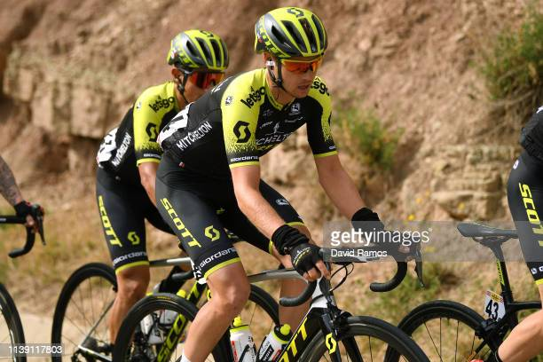 Dion Smith of New Zealand and Team Mitchelton - Scott / during the 99th Volta Ciclista a Catalunya 2019, Stage 5 a 188,1km stage from Puigcerdà to...