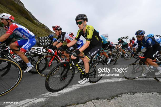 Dion Smith of New Zealand and Team Mitchelton - Scott / Puerto de Orduña / during the 75th Tour of Spain 2020, Stage 7 a 159,7km from Vitoria-Gasteiz...