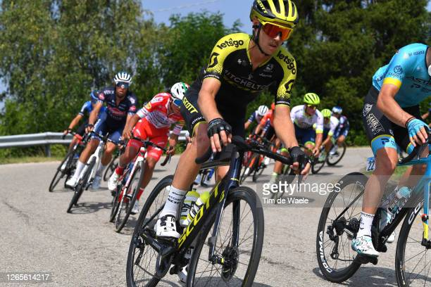 Dion Smith of New Zealand and Team Mitchelton-Scott / during the 104th Giro del Piemonte 2020 a 187km race from Santo Stefano Belbo to Barolo 294m /...