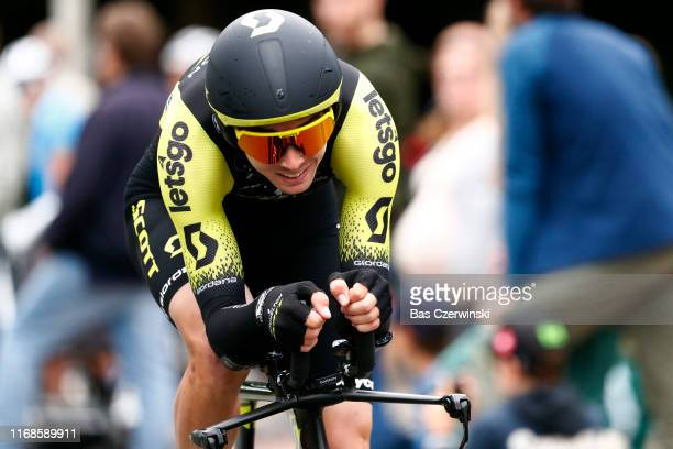 Dion Smith of New Zealand and Team Mitchelton-Scott / during the 15th Binck Bank Tour 2019, Stage 6 a 8,4km Individual Time Trial from Den Haag to...