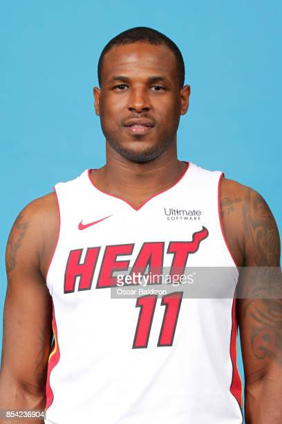 Dion Waiters of the Miami Heat poses for a head shot at American Airlines Arena in Miami Florida on September 25 2017 NOTE TO USER User expressly...