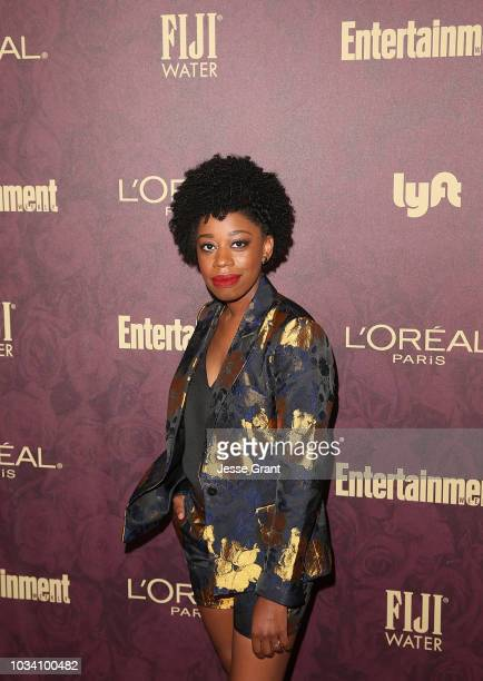 Diona Reasonover attends FIJI Water at Entertainment Weekly PreEmmy Party on September 15 2018 in Los Angeles California