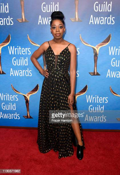 Diona Reasonover attends the 2019 Writers Guild Awards LA Ceremony at The Beverly Hilton Hotel on February 17 2019 in Beverly Hills California