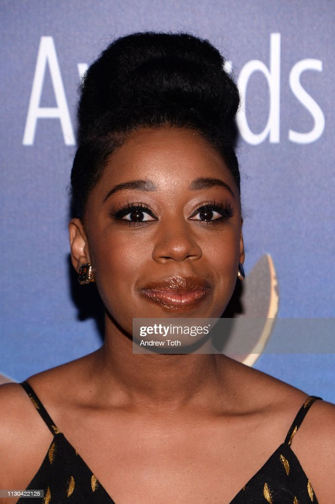 Diona Reasonover attends the 2019 Writers Guild Awards L A