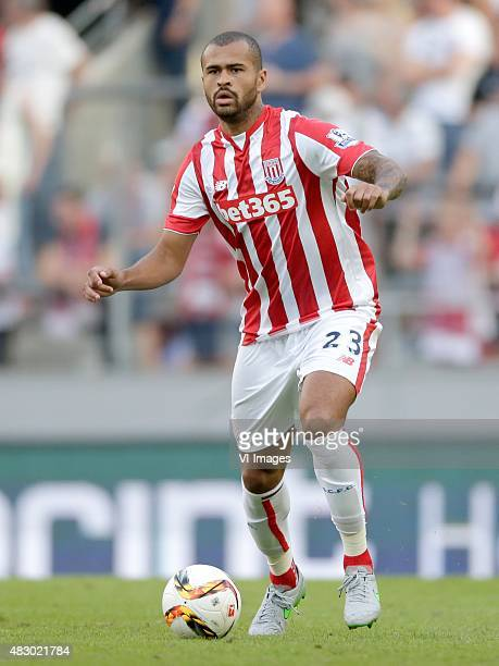 Dionatan Teixeira of Stoke City during the Colonia Cup match between FC Porto and Stoke City on August 2 2015 at the RheinEnergieStadion in Koln...