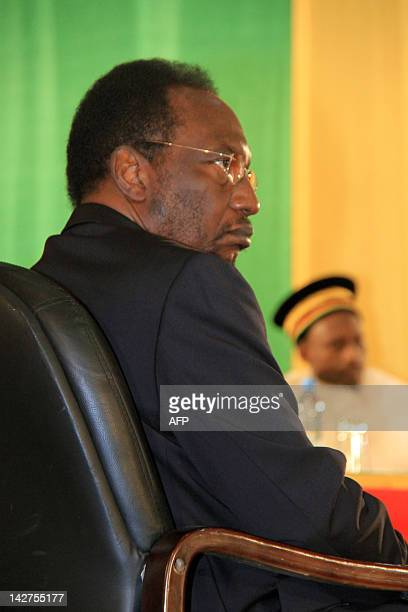 Dioncounda Traore the former parliament speaker wis sworn into office in Bamako on April 12 2012at a ceremony attended by among others junta leader...