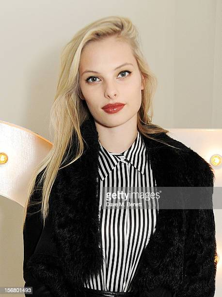 Dioni Tabbers attends the launch of the SuperTrash London flagship store on November 21 2012 in London England