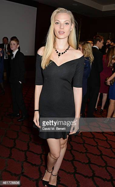 Dioni Tabbers attends The London Critics' Circle Film Awards at The Mayfair Hotel on January 18 2015 in London England