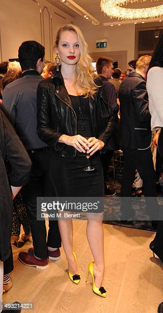 Dioni Tabbers attends the unveiling of Mount Street as Gina celebrates 60 years on May 22 2014 in London England