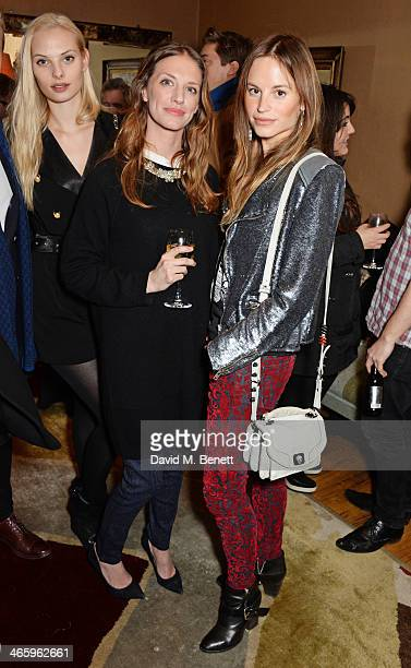 Dioni Tabbers Lizzie Phillips and Katrine de Candole attend a drinks reception and private screening of BAFTA and Oscar nominated film Philomena...