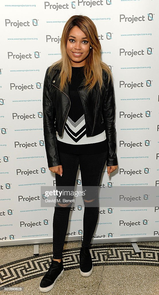 Dionne Bromfield attends the Project-0 Wave Makers Marine Conservation concert at Scala on December 16, 2015 in London, England.
