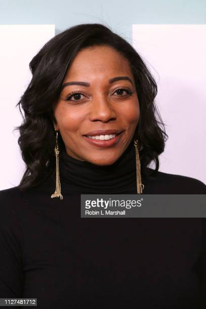 Dionne Harmon attends BET's 'American Soul' Red Carpet at Wolf Theatre on February 04 2019 in North Hollywood California