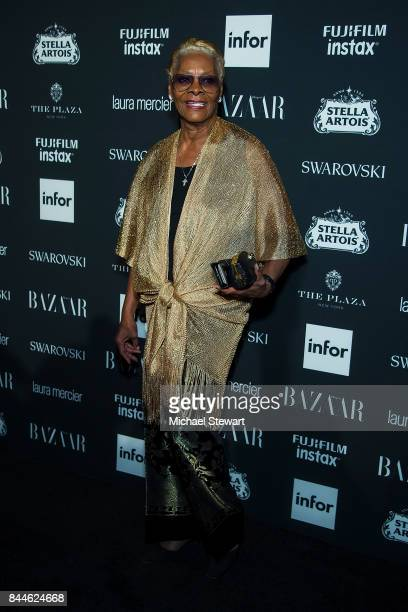 Dionne Warwick attends 2017 Harper's Bazaar Icons at The Plaza Hotel on September 8 2017 in New York City