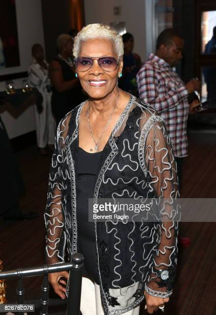 Dionne Warwick attends Black Girls Rock 2017 Pre Reception at NJPAC on August 5 2017 in Newark New Jersey