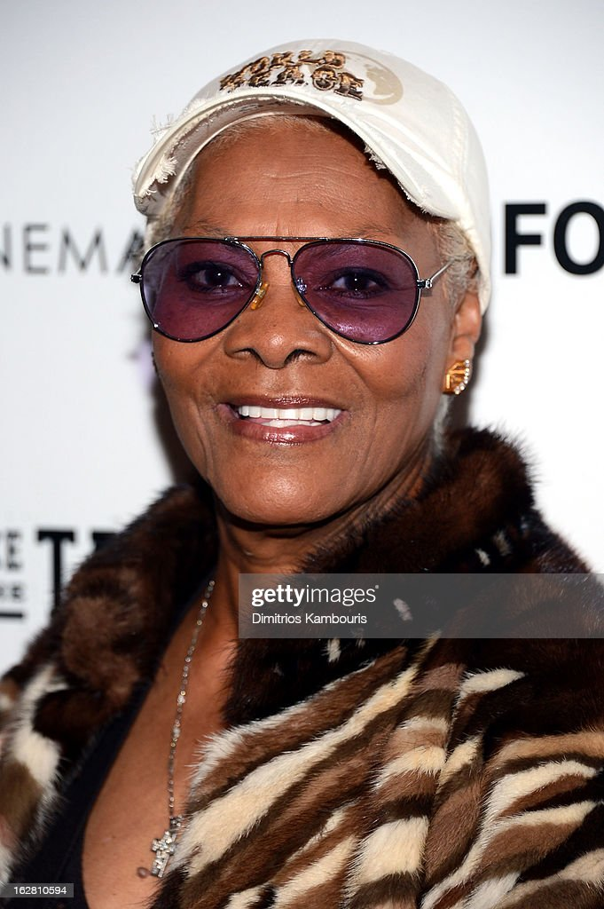 Dionne Warwick attends Magnolia Pictures And Participant Media With The Cinema Society Present A Screening Of 'A Place At The Table' at MOMA - Celeste Bartos Theater on February 27, 2013 in New York City.
