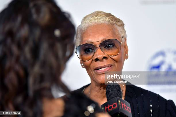 Dionne Warwick attends the 2019 Hollywood Beauty Awards at Avalon Hollywood on February 17 2019 in Los Angeles California