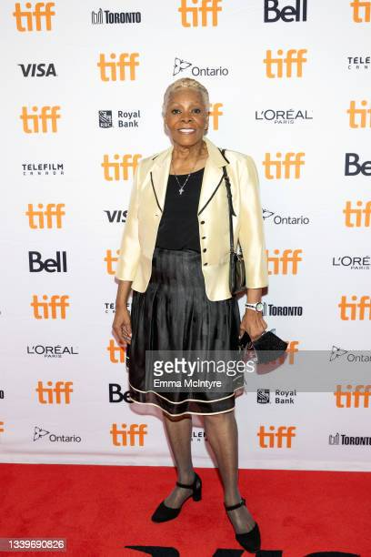 """Dionne Warwick attends the """"Dionne Warwick: Don't Make Me Over"""" Premiere during the 2021 Toronto International Film Festival at Princess of Wales..."""