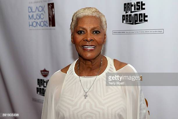 Dionne Warwick attends the NMAAM 2016 Black Music Honors on August 18 2016 in Nashville Tennessee