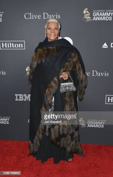 Dionne Warwick attends The Recording Academy And Clive Davis' 2019 PreGRAMMY Gala at The Beverly Hilton Hotel on February 9 2019 in Beverly Hills...