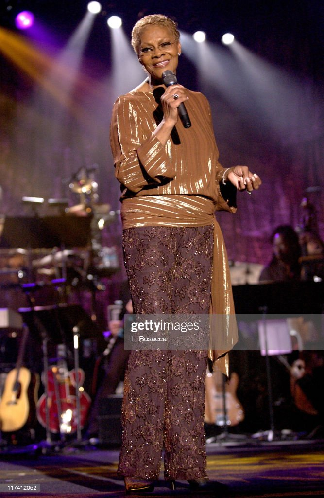 Dionne Warwick during 35th Annual Songwriters Hall of Fame Awards Induction - Show at Marriott Marquis Hotel in New York City, New York, United States.