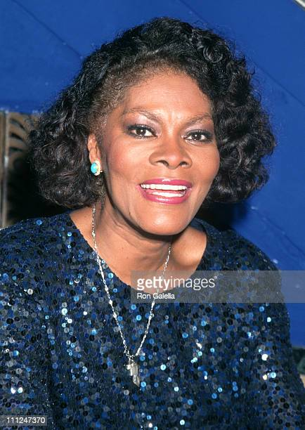 """Dionne Warwick during PBS' """"The Great Love of Songs"""" Taping at The Supper Club in New York City, New York, United States."""