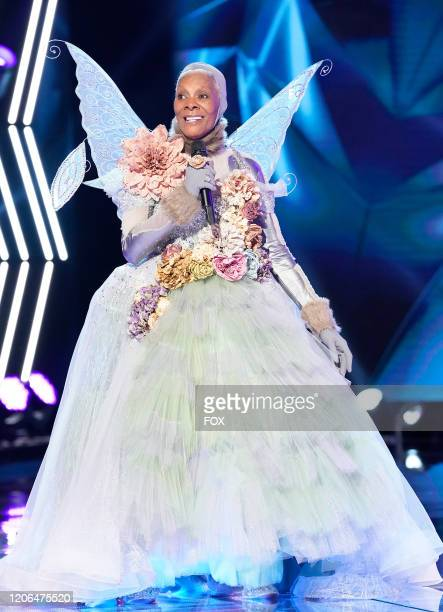 Dionne Warwick in the MaskMatics Group B Playoffs episode of THE MASKED SINGER airing Wednesday Feb 26 on FOX