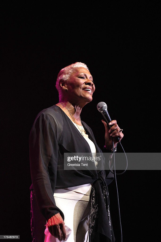 Dionne Warwick performs at day three of the North Sea Jazz Festival at Ahoy on July 14, 2013 in Rotterdam, Netherlands.
