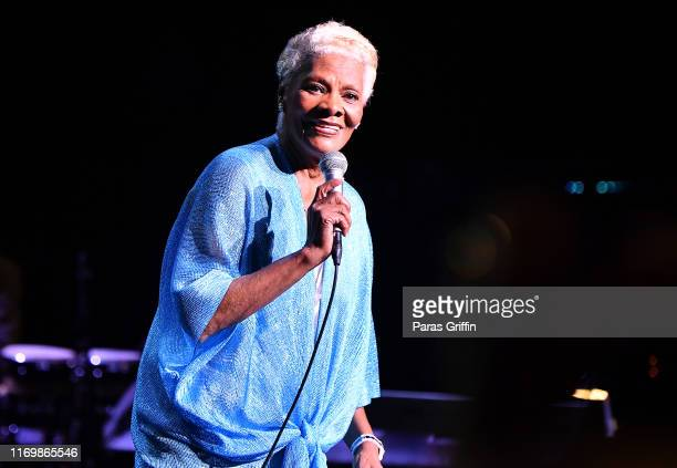 Dionne Warwick performs in concert during A Night of Class Starring Dionne Warwick at Fox Theater on August 23 2019 in Atlanta Georgia