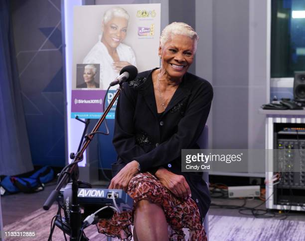 Dionne Warwick performs on SiriusXM's Soul Town channel at the SiriusXM studios on March 28 2019 in New York City