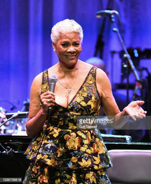 Dionne Warwick performs on stage at the Royal Albert Hall on September 18 2018 in London England