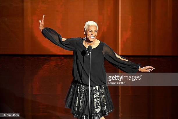 Dionne Warwick performs onstage at 2016 Triumph Awards presented by National Action Network and TV One at The Tabernacle on September 18 2016 in...