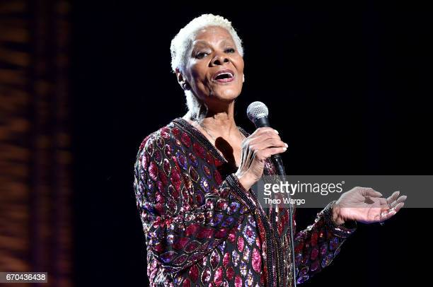 Dionne Warwick performs onstage during the Clive Davis The Soundtrack of Our Lives Premiere Concert during the 2017 Tribeca Film Festival at Radio...