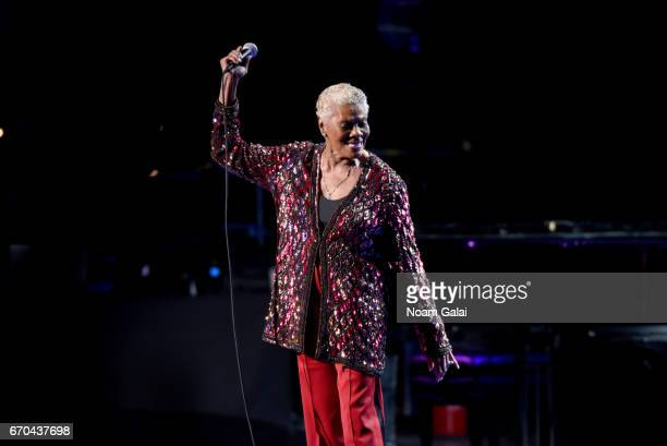 Dionne Warwick performs onstage during the 'Clive Davis The Soundtrack of Our Lives' Premiere Concert during the 2017 Tribeca Film Festival at Radio...