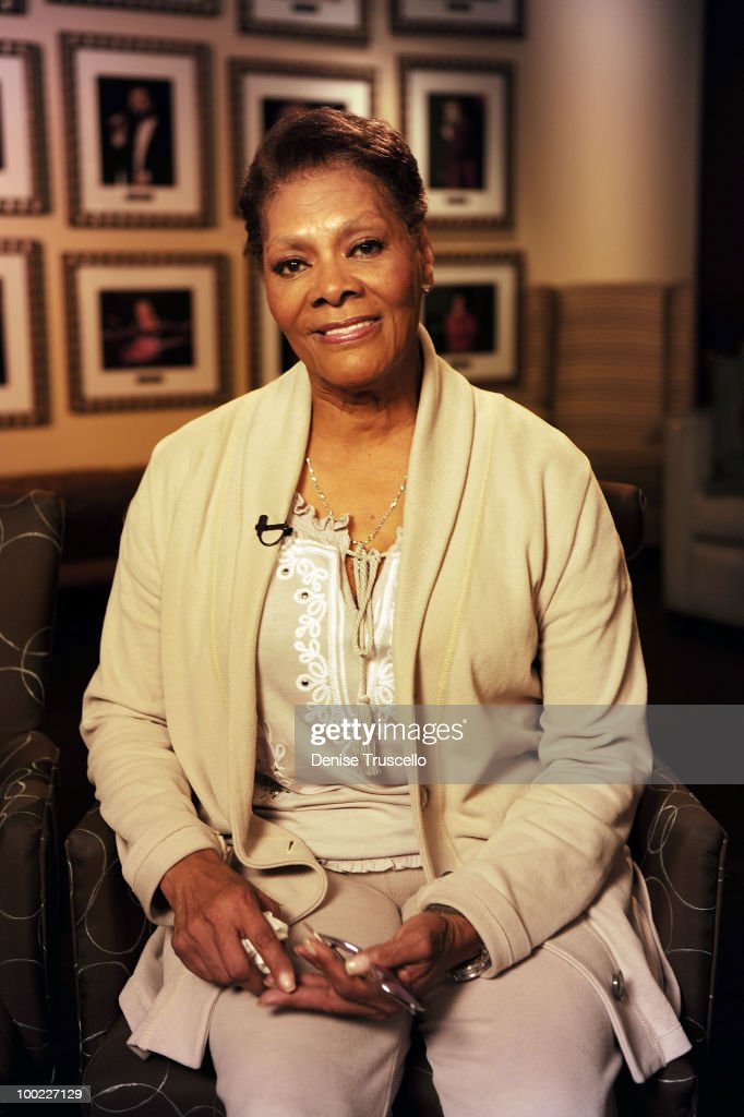 Dionne Warwick poses for portraits backstage at Eric Floyd's 'Grand Divas of Stage' at the Las Vegas Hilton on May 21, 2010 in Las Vegas, Nevada.