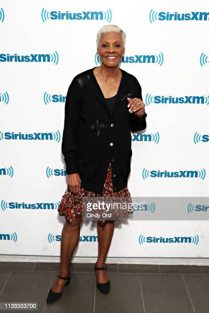 Dionne Warwick visits SiriusXM's Soul Town channel at the SiriusXM studios on March 28 2019 in New York City
