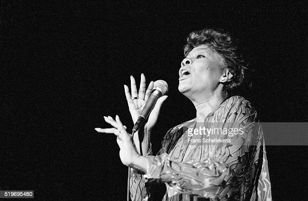 Dionne Warwick vocal performs at the RAI on July 2nd 1993 during Drum Festival in Amsterdam Netherlands
