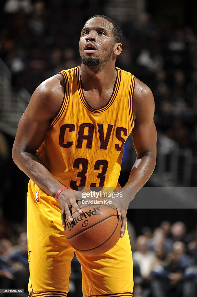 Dionte Christmas.Dionte Christmas Of The Cleveland Cavaliers Prepares To Shoot A Free