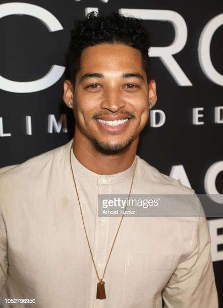 Dionte Holloway attends the ZEUS New Series Premiere Party X CIROC Black Raspberry on October 19 2018 in Burbank California