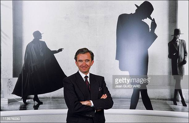 Dior 40 Years Of Creation in Paris France in March 1987Bernard Arnault