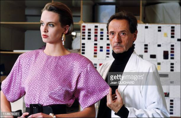 Dior 40 Years Of Creation in Paris France in March 1987Marc Bohan