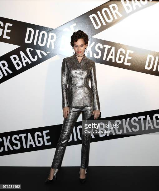 Dior Beaty Ambassador Asia Kiko Mizuhara attends the Dior Backstage launch party at EDIT on June 11 2018 in Seoul South Korea