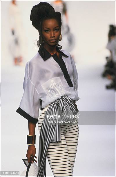 Dior Haute Couture Fall Winter 92-93 show in France in October 1992 - Beverly.