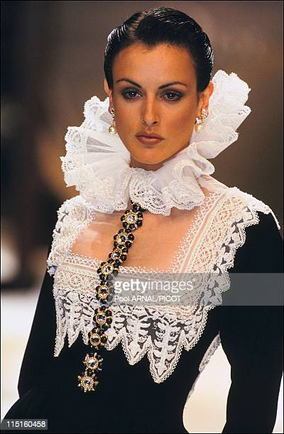 Dior Haute Couture Fall Winter 9394 in France in January 1993 Marcia