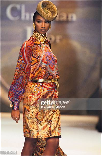 Dior Haute Couture Fall Winter 9394 in France in January 1993 Katousha
