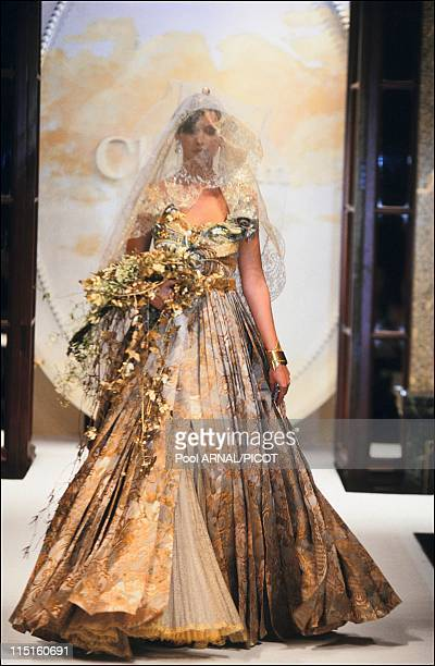 Dior Haute Couture Spring Summer 93 in France in January 1993 Patricia Hartman