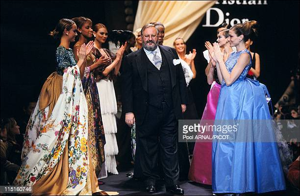 Dior Haute Couture Spring Summer 94 show in France in January 1994 Gianfranco Ferre