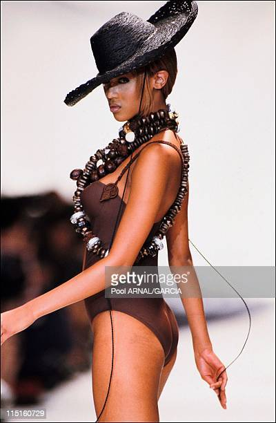 Dior Ready to Wear Spring Summer 94 show in France in 1994 Tyra Banks