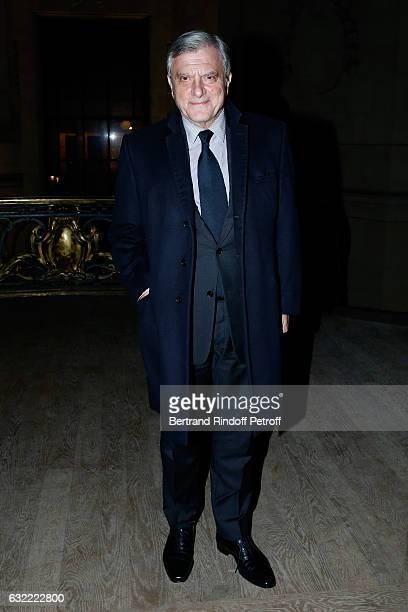 Dior Sidney Toledano attends the Berluti Menswear Fall/Winter 2017-2018 show as part of Paris Fashion Week on January 20, 2017 in Paris, France.